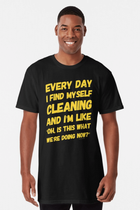 I Find Myself Cleaning Savvy Cleaner Funny Cleaning Shirts (7)