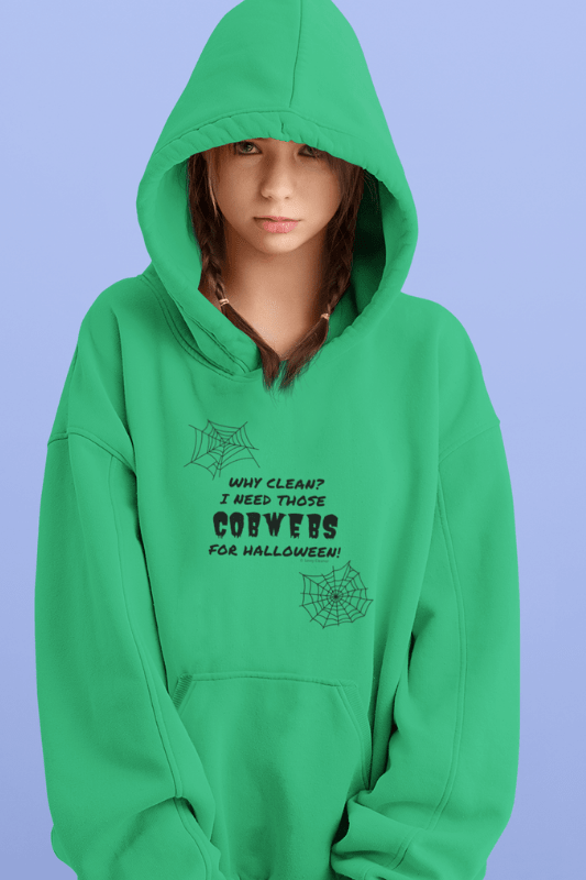 I Need Those Cobwebs, Savvy Cleaner Funny Cleaning Shirts, Kids Classic Pullover Hoodie
