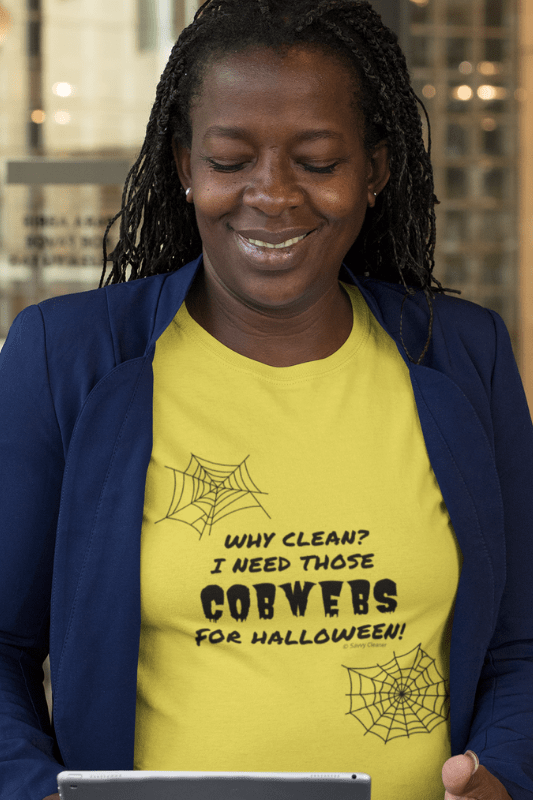 I Need Those Cobwebs, Savvy Cleaner Funny Cleaning Shirts, Women's Boyfriend T-Shirt