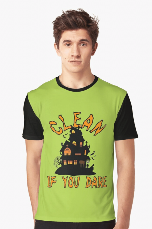 If You Dare Savvy Cleaner Funny Cleaning Shirts Graphic Tee