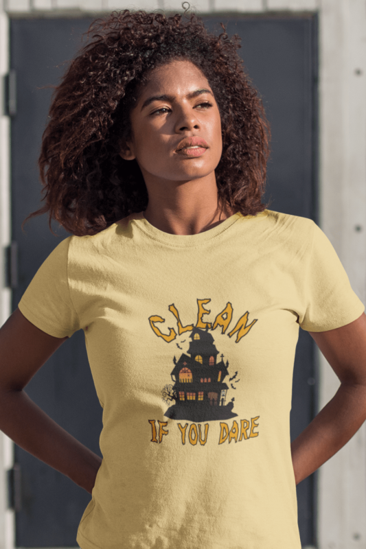 If You Dare Savvy Cleaner Funny Cleaning Shirts Premium T-Shirt