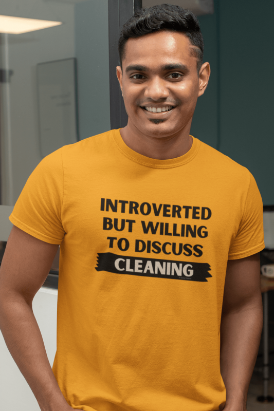 Introverted Savvy Cleaner Funny Cleaning Shirts Classic T-Shirt