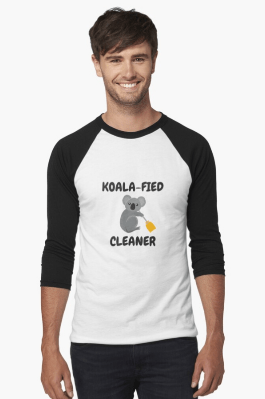 Koalafied Cleaner Savvy Cleaner Funny Cleaning Shirts Baseball Shirt