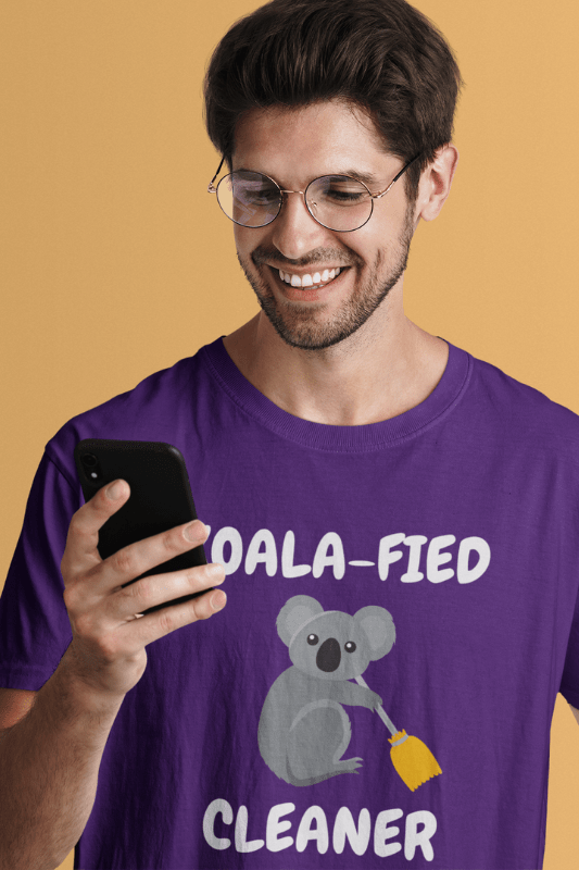 Koalafied Cleaner Savvy Cleaner Funny Cleaning Shirts Classic T-Shirt