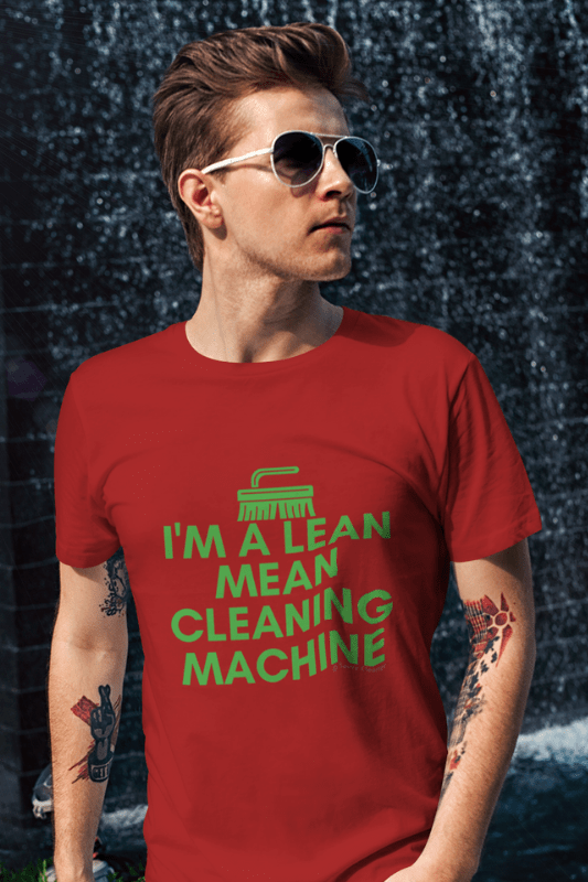 Lean, Mean Cleaning Machine, Savvy Cleaner Funny Cleaning Shirts, Classic T-Shirt