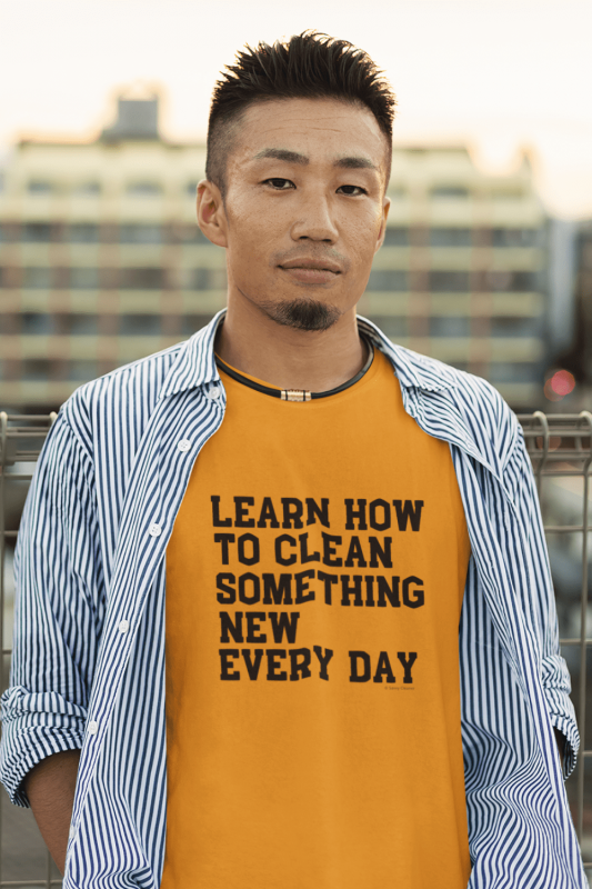 Learn Something New Savvy Cleaner Funny Cleaning Shirts Classic T-Shirt