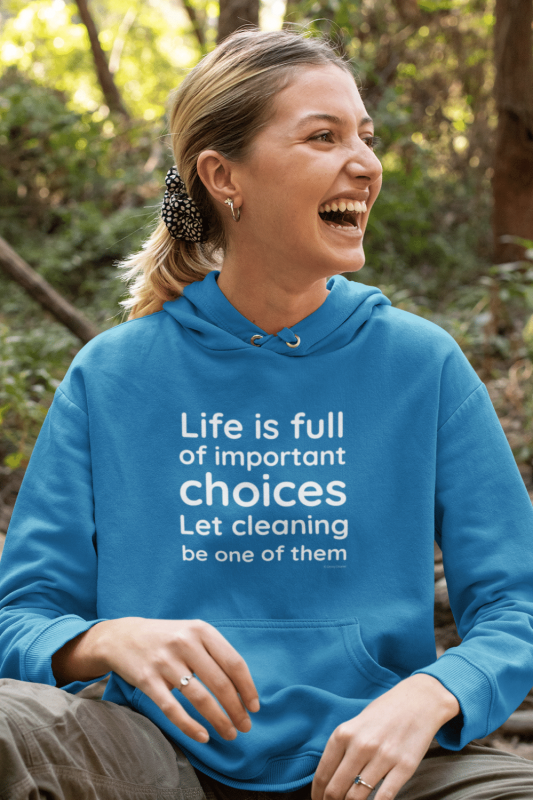 Life Is Full Savvy Cleaner Funny Cleaning Shirts Hoodie