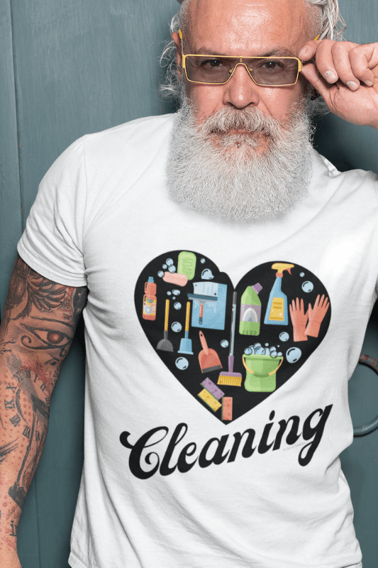 Love Cleaning Savvy Cleaner Funny Cleaning Shirts Mens Standard T-shirt