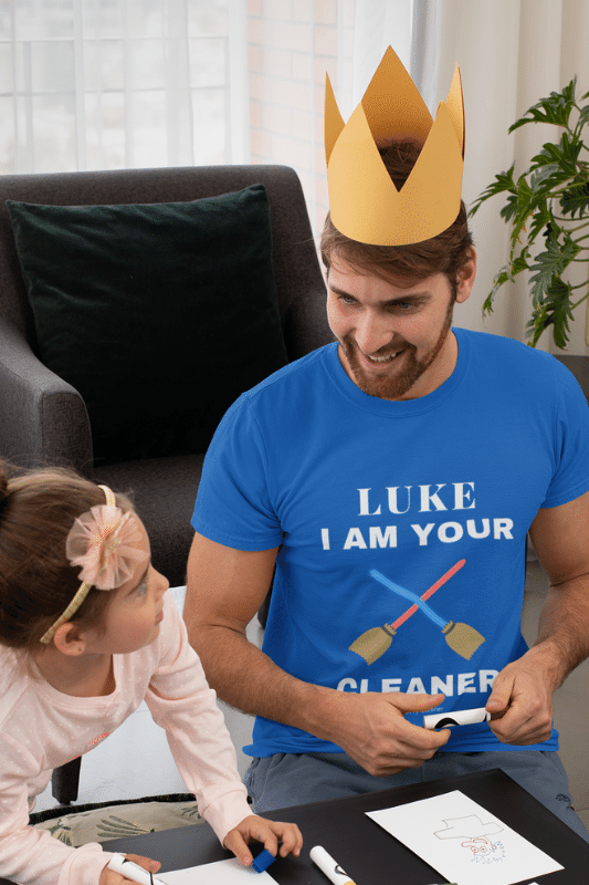 Luke I Am Your Cleaner Savvy Cleaner Funny Cleaning Shirts Premium Tee