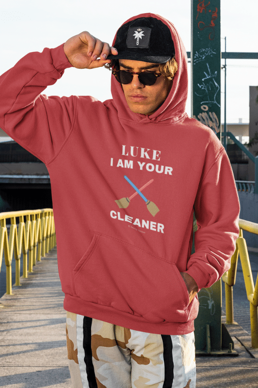 Luke I Am Your Cleaner Savvy Cleaner Funny Cleaning Shirts Pullover Hoodie