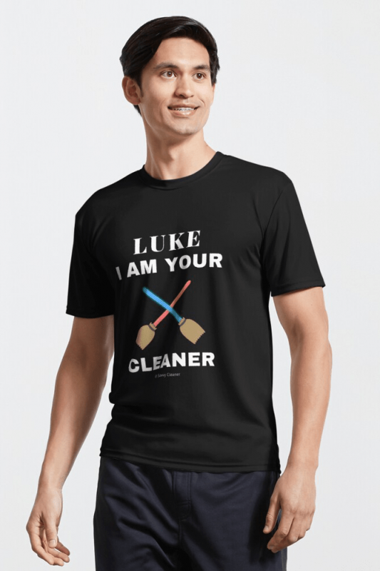 Luke I Am Your Cleaner, Savvy Cleaner funny cleaning shirts, Active Shirt