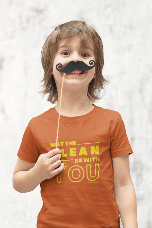 May the Clean Be With You, Savvy Cleaner Funny Cleaning Shirts, Kids Premium T-Shirt