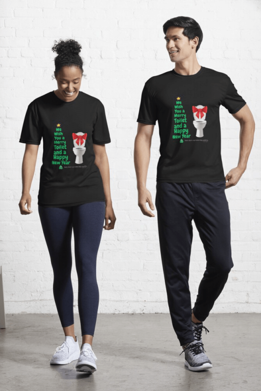 Merry Toilet, Savvy Cleaner Funny Cleaning Shirts, Active Shirt