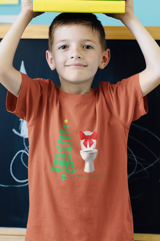 Merry Toilet, Savvy Cleaner Funny Cleaning Shirts, Kids Premium T-Shirt