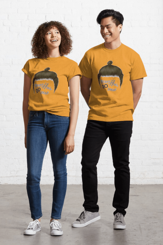 Messy Hair Do Care, Savvy Cleaner Funny Cleaning Shirts, Classic shirt