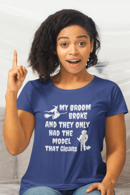 Model That Cleans Savvy Cleaner Funny Cleaning Shirts Women's Standard Tee