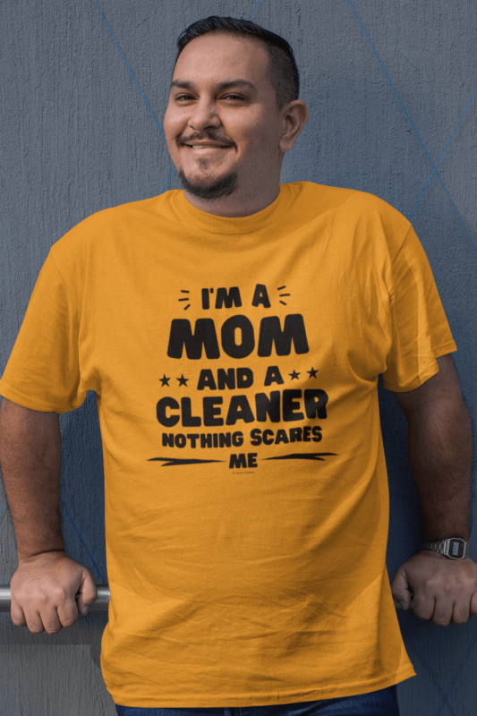 Mom and a Cleaner Savvy Cleaner Funny Cleaning Shirts Classic T-Shirt
