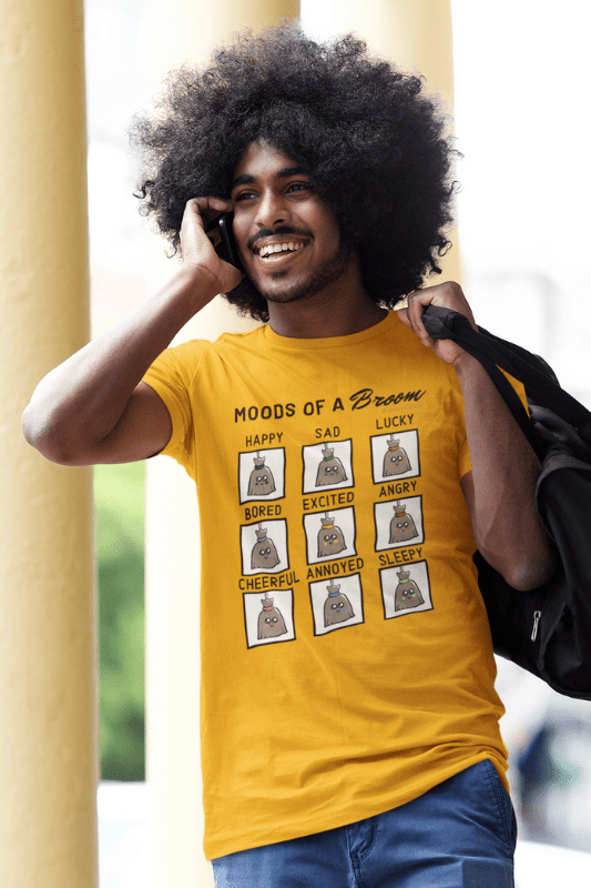 Moods of a Broom, Savvy Cleaner Funny Cleaning Shirts, Premium T-Shirt