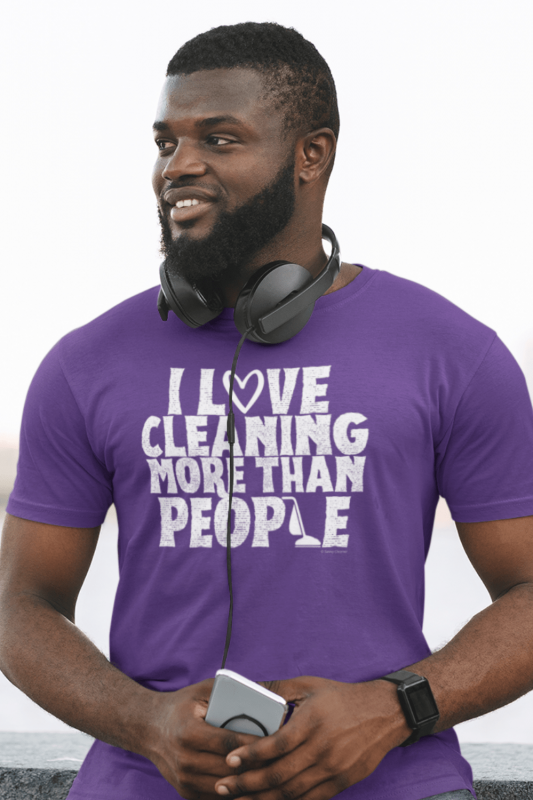 More Than People Savvy Cleaner Funny Cleaning Shirts Comfort T-Shirt