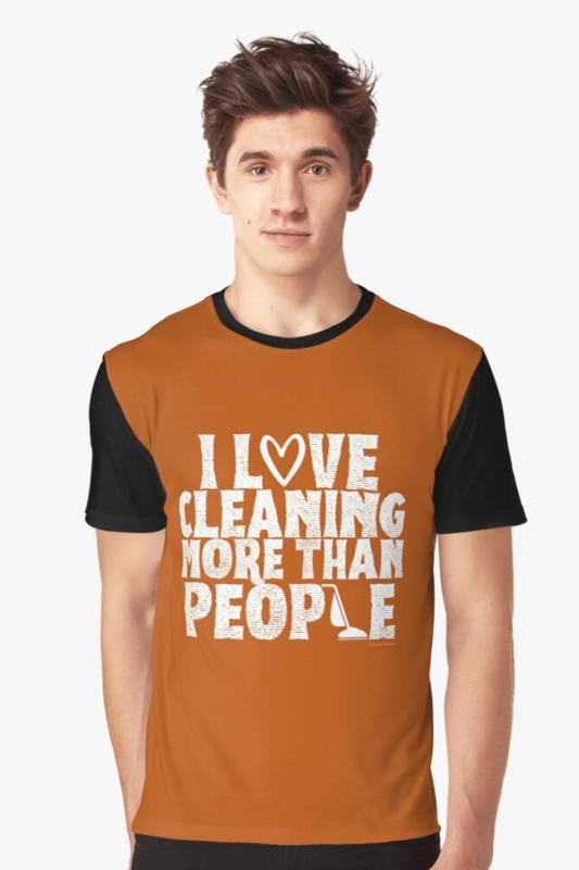 More Than People Savvy Cleaner Funny Cleaning Shirts Graphic Tee