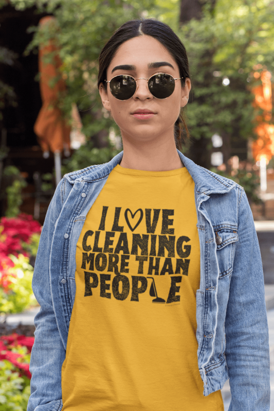 More Than People Savvy Cleaner Funny Cleaning Shirts Premium T-Shirt
