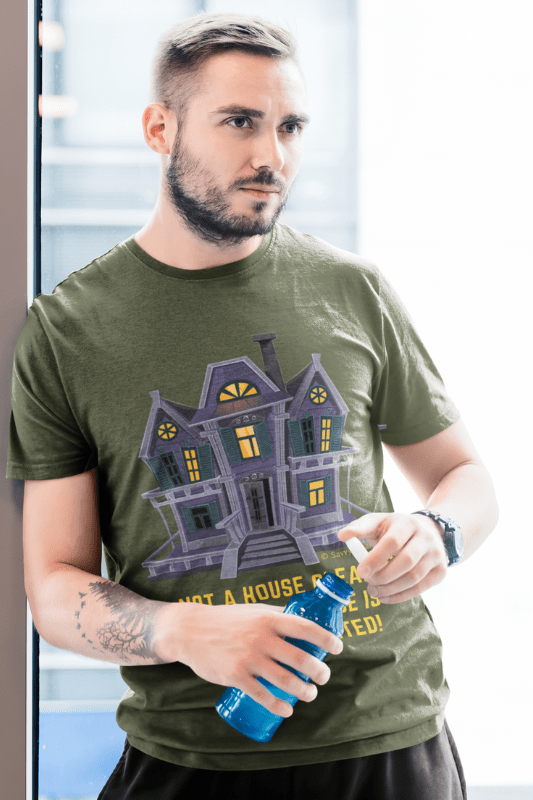 My House is Always Haunted, Savvy Cleaner Funny Cleaning Shirts, Premium Tee