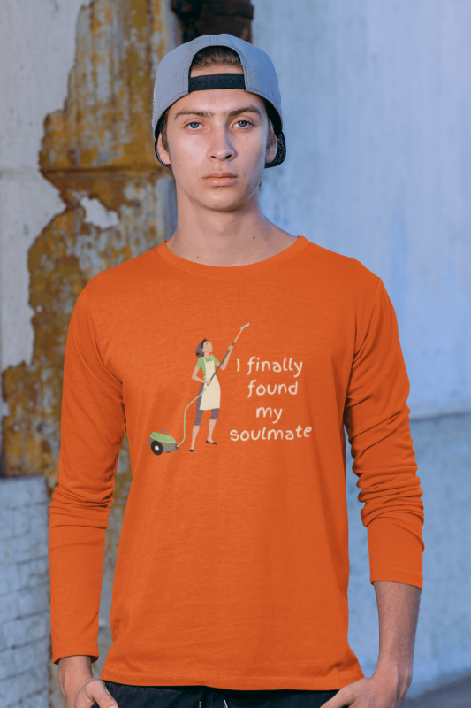 My Soulmate Savvy Cleaner Funny Cleaning Shirts Classic Long Sleeve Tee