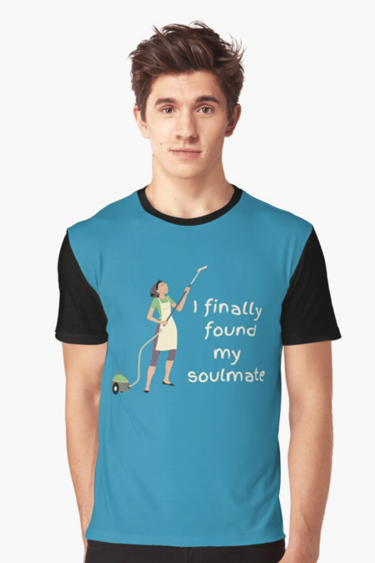My Soulmate Savvy Cleaner Funny Cleaning Shirts Graphic Tee