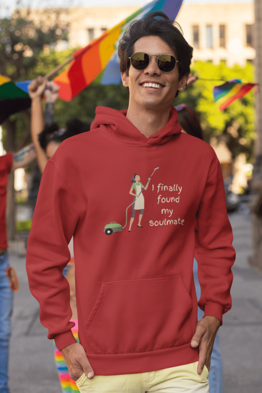 My Soulmate Savvy Cleaner Funny Cleaning Shirts Premium Pullover Hoodie