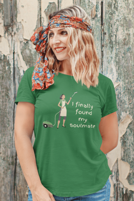 My Soulmate Savvy Cleaner Funny Cleaning Shirts Standard T-Shirt