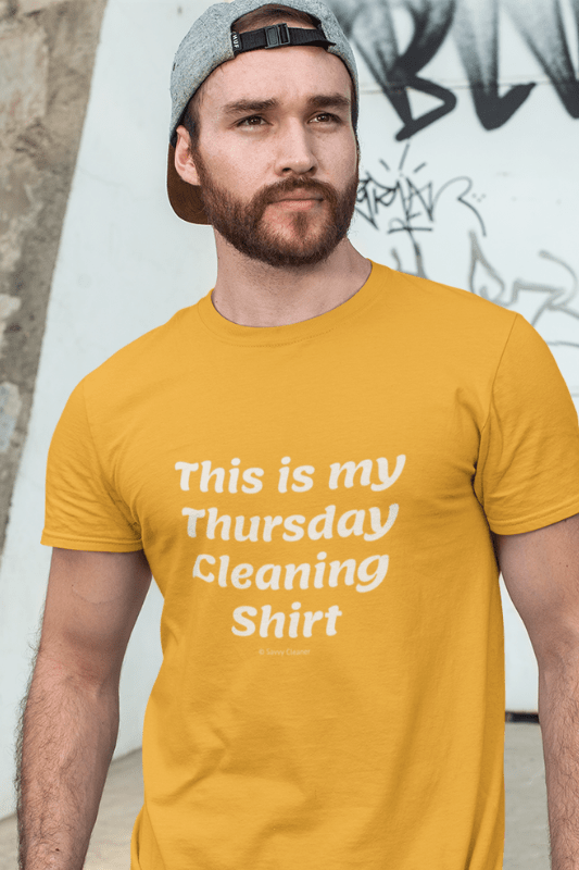 My Thursday Cleaning Shirt, Savvy Cleaner Funny Cleaning Shirts, Premium T-Shirt