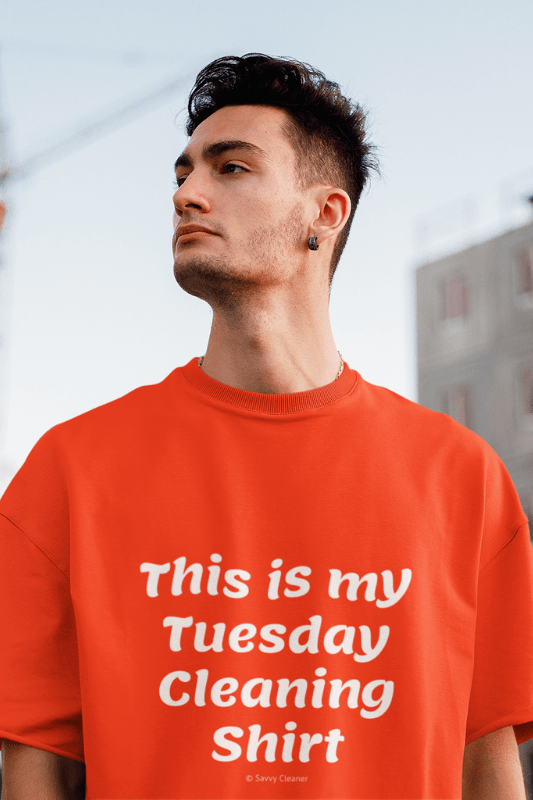 My Tuesday Cleaning Shirt, Savvy Cleaner Funny Cleaning Shirts, Classic T-Shirt