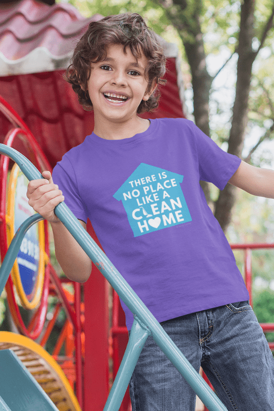No Place Like Home, Savvy Cleaner Funny Cleaning Shirts, Kids Premium T-Shirt