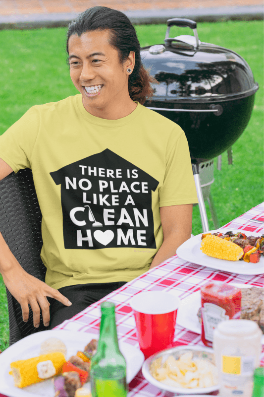 No Place Like a Clean Home Savvy Cleaner Funny Cleaning Shirt, WWIB_3