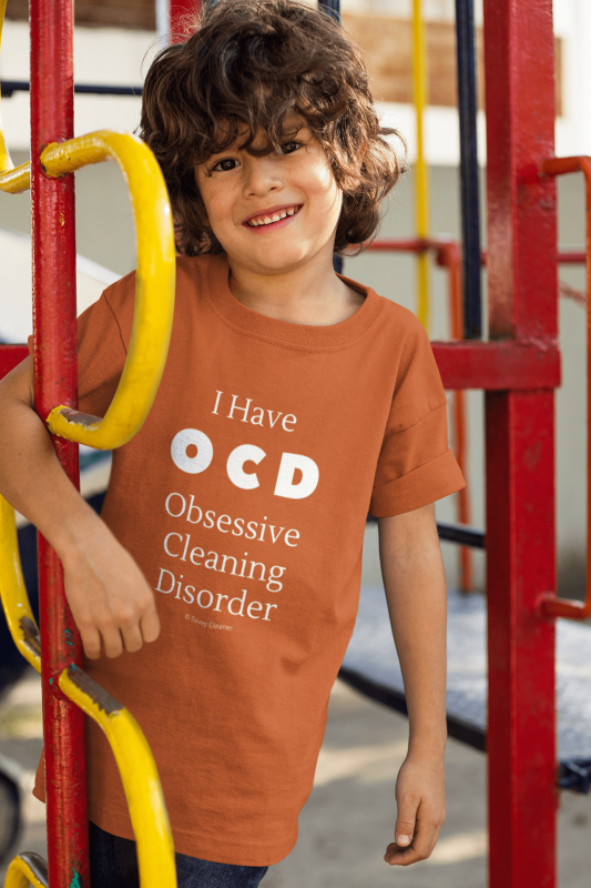 OCD, Savvy Cleaner Funnny Cleaning Shirts, Kids Classic T-Shirt
