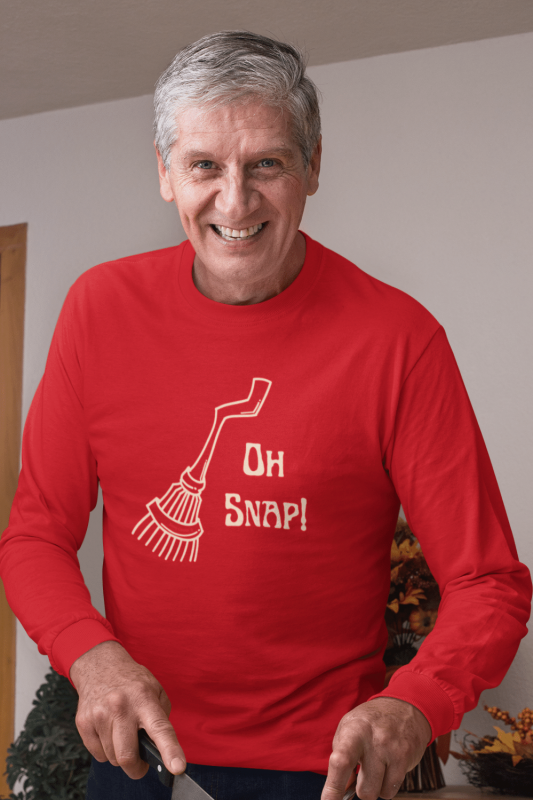 Oh Snap Savvy Cleaner Funny Cleaning Shirts Classic Long Sleeve Tee