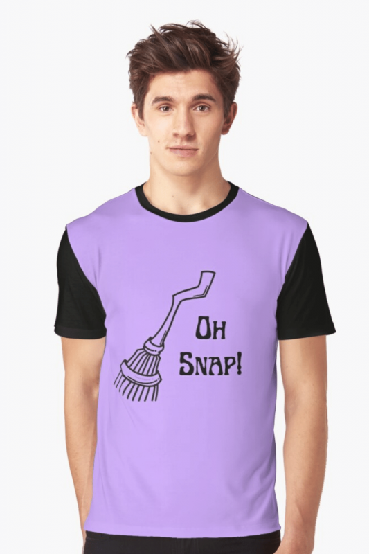 Oh Snap Savvy Cleaner Funny Cleaning Shirts Graphic Tee