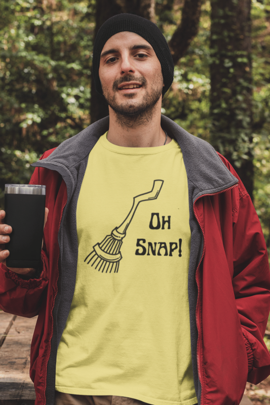 Oh Snap Savvy Cleaner Funny Cleaning Shirts Men's Standard Tee