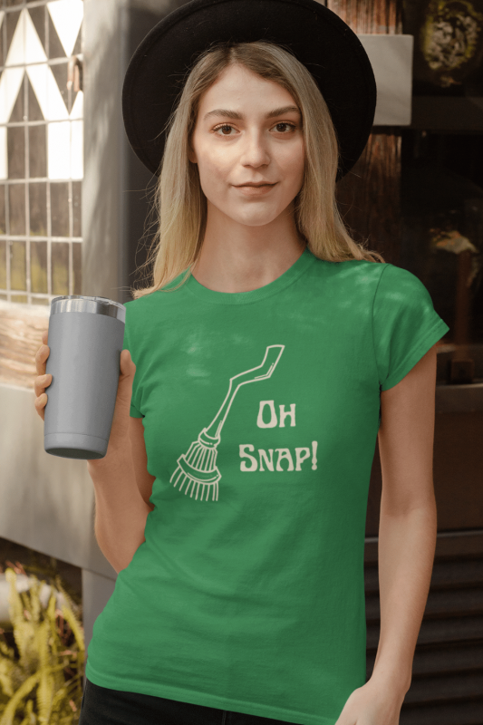 Oh Snap Savvy Cleaner Funny Cleaning Shirts Women's Standard T-Shirt