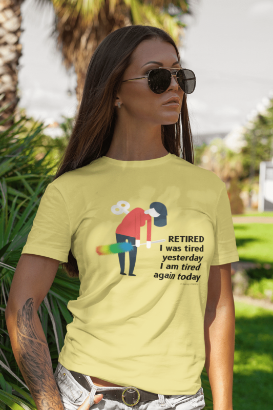 Retired Savvy Cleaner Funny Cleaning Shirts Standard T-Shirt