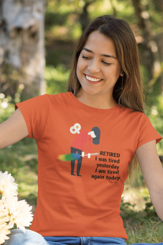 Retired Savvy Cleaner Funny Cleaning Shirts Women's Standard T-Shirt