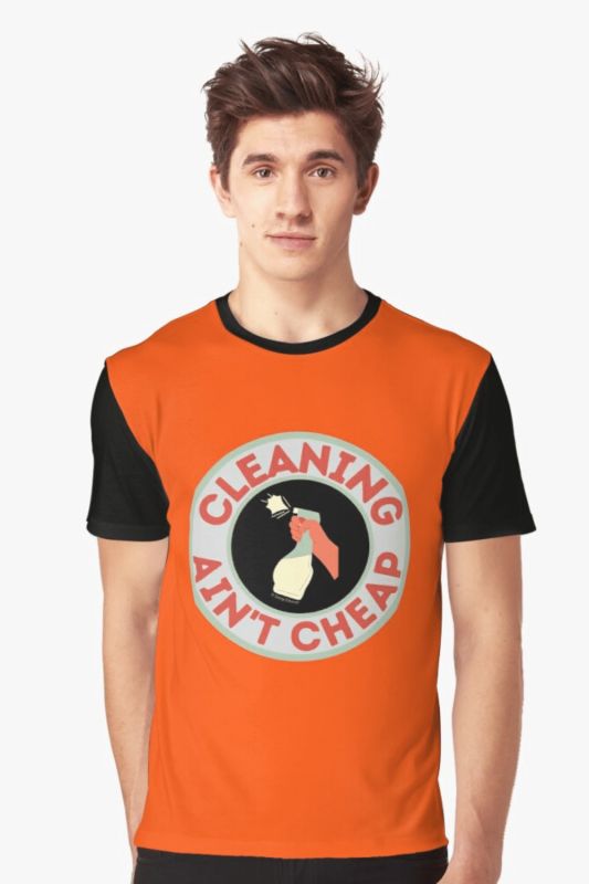 Retro Cleaning Ain't Cheap Savvy Cleaner Funny Cleaning Shirts (8)