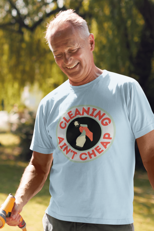 Retro Cleaning Ain't Cheap Savvy Cleaner Funny Cleaning Shirts Standard T-Shirt