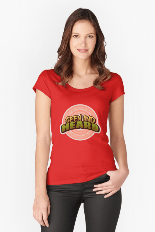 Seen and Heard, Savvy Cleaner Funny Cleaning Shirts, Scoop Shirt