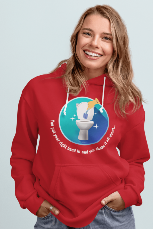 Shake it All About Savvy Cleaner Funny Cleaning Shirts Classic Pullover Hoodie