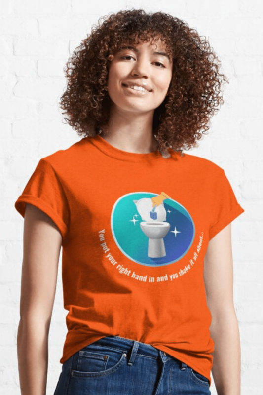 Shake it All About Savvy Cleaner Funny Cleaning Shirts Classic T-Shirt