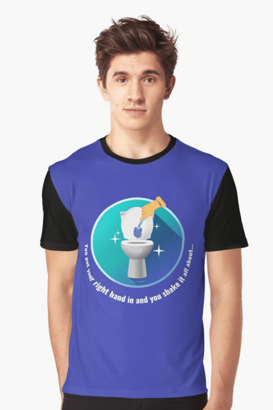 Shake it All About Savvy Cleaner Funny Cleaning Shirts Graphic Tee