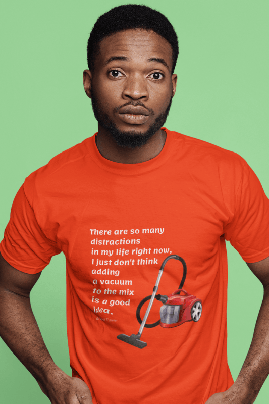 So Many Distractions, Savvy Cleaner Funny Cleaning Shirts, Classic T-Shirt