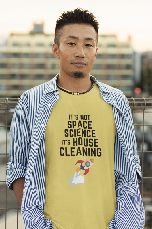 Space Science Savvy Cleaner Funny Cleaning Shirts Men's Standard T-Shirt