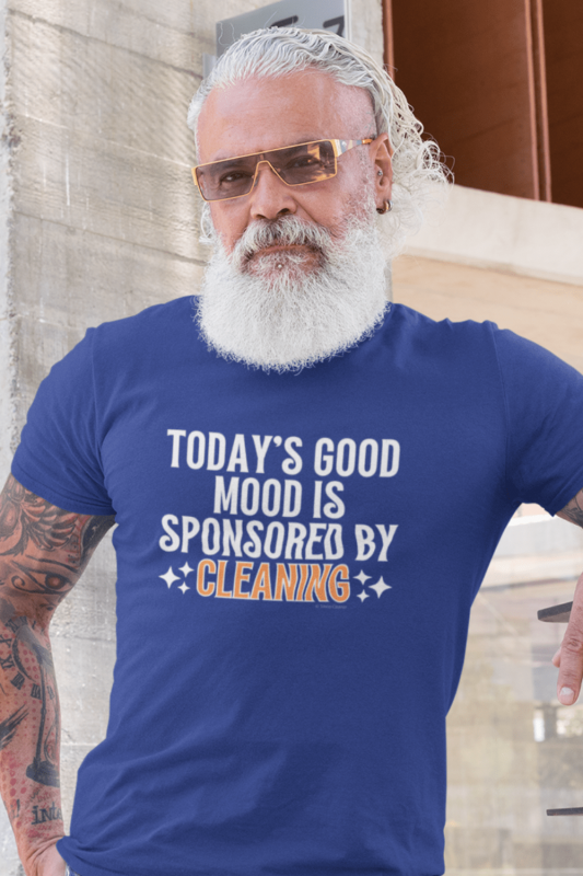Sponsored by Cleaning Savvy Cleaner Funny Cleaning Shirts Men's Standard T-Shirt